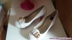 Zapatos de tacon zara,bien bonitos y como nuevos
