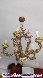 Apliques x2 y lámparas en bronce
