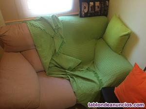 Vendo 1 sofa de dos plazas y uno de tres plazas