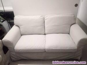 2 sofas de dos plazas ektorp