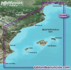 Carta garmin g2 vision de baleares y mediterraneo
