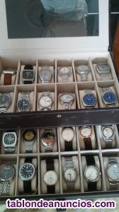 Vendo colección de 24 relojes