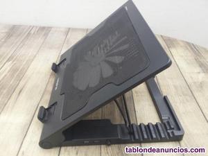 Base ordenador portátil con ventilador