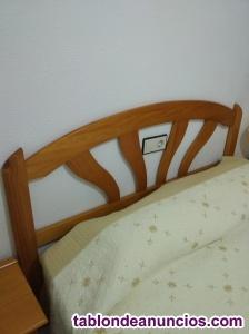 Dormitorio.. Cabecero cama + 2 mesillas