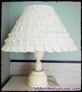 Lámpara de sobremesa restaurada