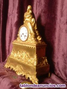 Reloj siglo xix bronce