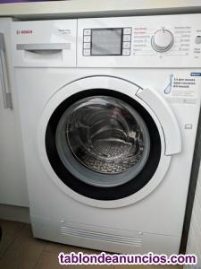 Lavadora secadora bosch wash+dry logixx