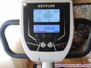 Vendo bicicleta estatica con respaldo kettler re7