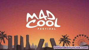 2 entradas sábado mad cool festival