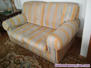 Dos sofas dos plazas