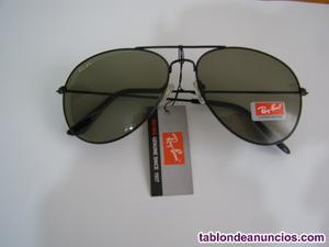 Gafas de sol marca ray-ban modelo aviator clasic.