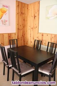 Vendo mesa de comedor y seis sillas