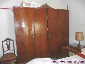 Armario dormitorio de madera