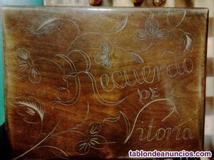 Caja de madera