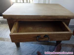 Mesas rústicas envejecidas