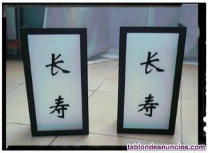 Apliques letras japonesas