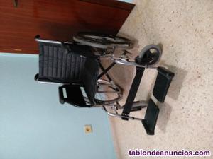 Vendo silla de ruedas en muy buen estado y poco uso
