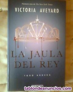 Libro la jaula del rey - saga la reina roja
