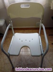 Vendo silla de ducha para personas mayores y enfermos