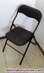 3 sillas plegables
