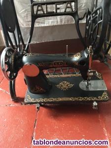 Cabeza maquina de coser antigua