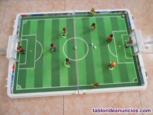 Futbolin playmobil --maletin--