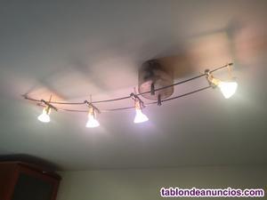 Vendo lampara de techo de 4 focos