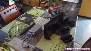 Wii u 32gb + 6 juegos + accesorios