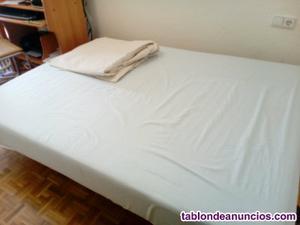 Vendo lote colchón viscolástico pikolin135 x 180 + canapé