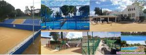 Vendo acción título en club de tenis oromana