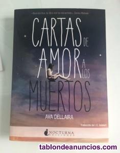 """Libro """"cartas de amor a los muertos"""", de ava dellaira"""