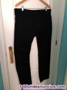 Pantalón vaquero negro lefties hombre