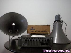 Vendo equipo de megafonía grande