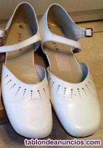 Zapatos de comunión de el corte inglés para niña