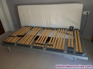 Cama articulada electrica con colchón