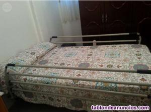 Vendo cama geriatrica articulada completa