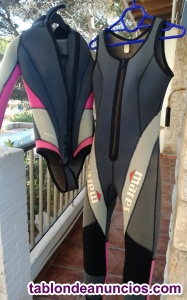 Vendo traje buceo 5 mm