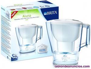 Jarra agua con filtro brita aluna 2.4l blanca