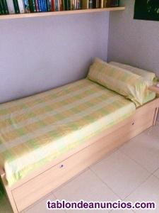 Cama nido con colchón
