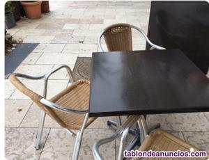 Mesas y sillas de exterior hosteleria