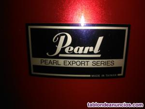 "Se vende set de batería pearl export series color "" rojo"