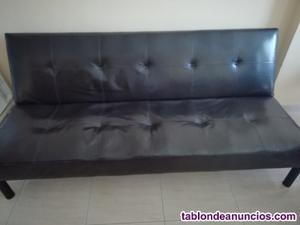 Sofá cama polipiel, en buen estado