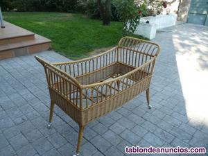 Cuna de bambú para bebe