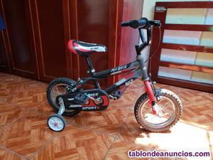 Bicicleta rodado 12 de niño seminueva
