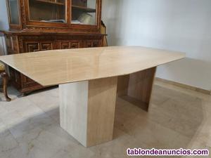 Mesa comedor mármol