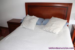 Dormitorio en madera maciza
