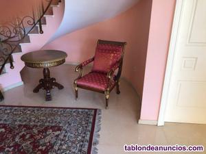 Se vende precioso sillon y mesa