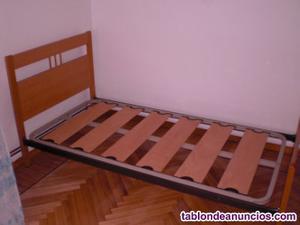 Cama, colchón, somier 90x180