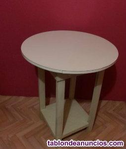 Mesa camilla laminada