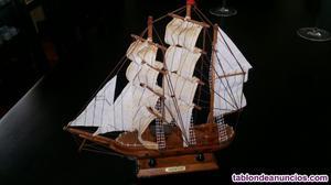 Maqueta barco de madera, maqueta naval